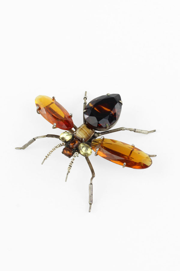 De Luxe Fly Brooch