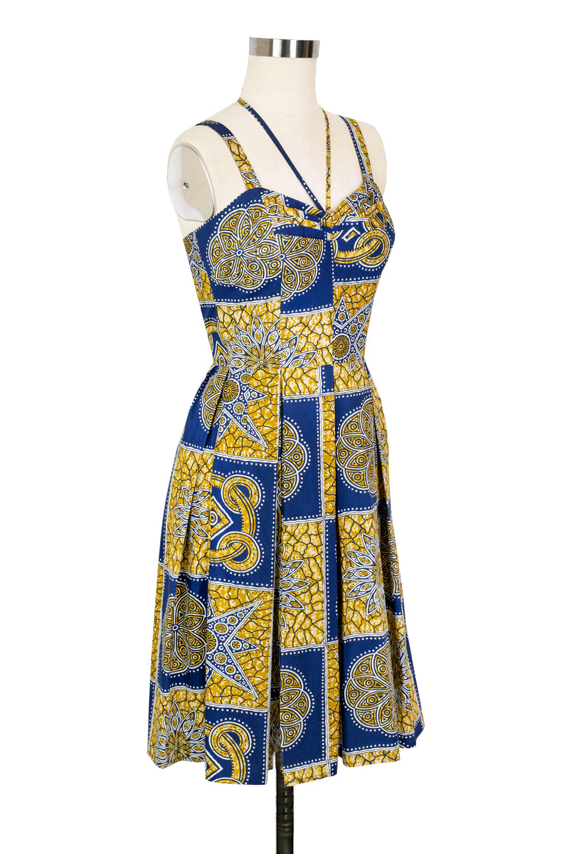 Getaway Dress - Tiki Batik - Final Sale