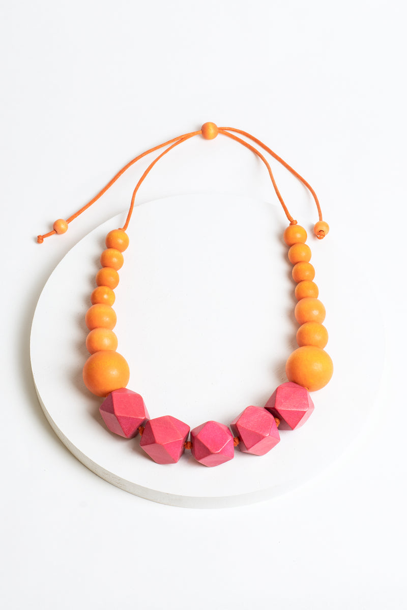Cube & Circle Necklace