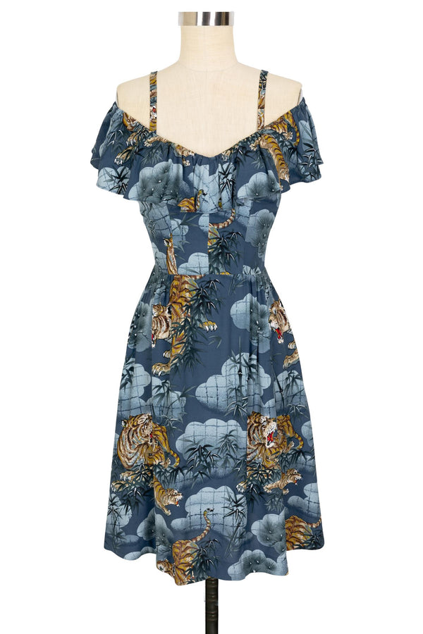 Hollywood Dress - Traditional Tigers - Final Sale