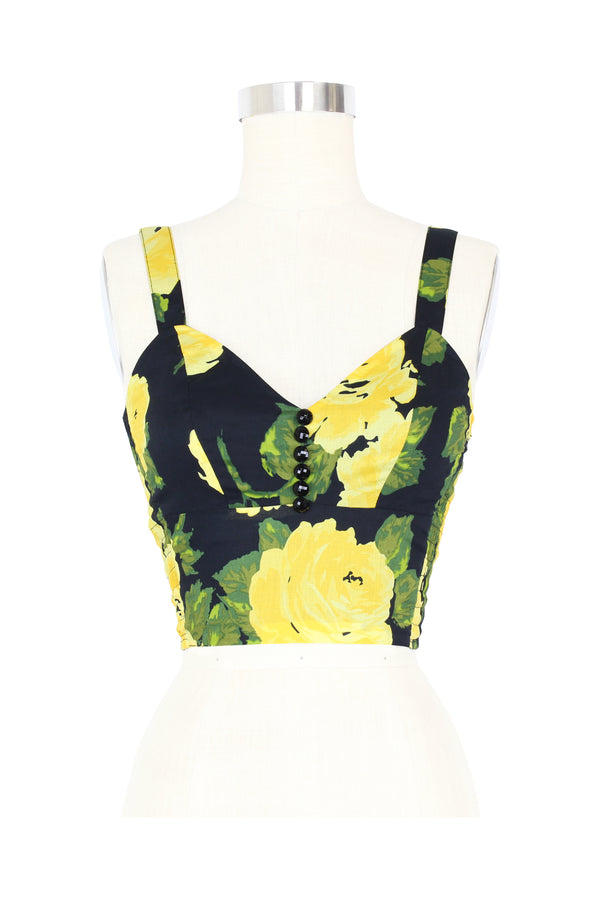 Hottie Top - 1959 Floral