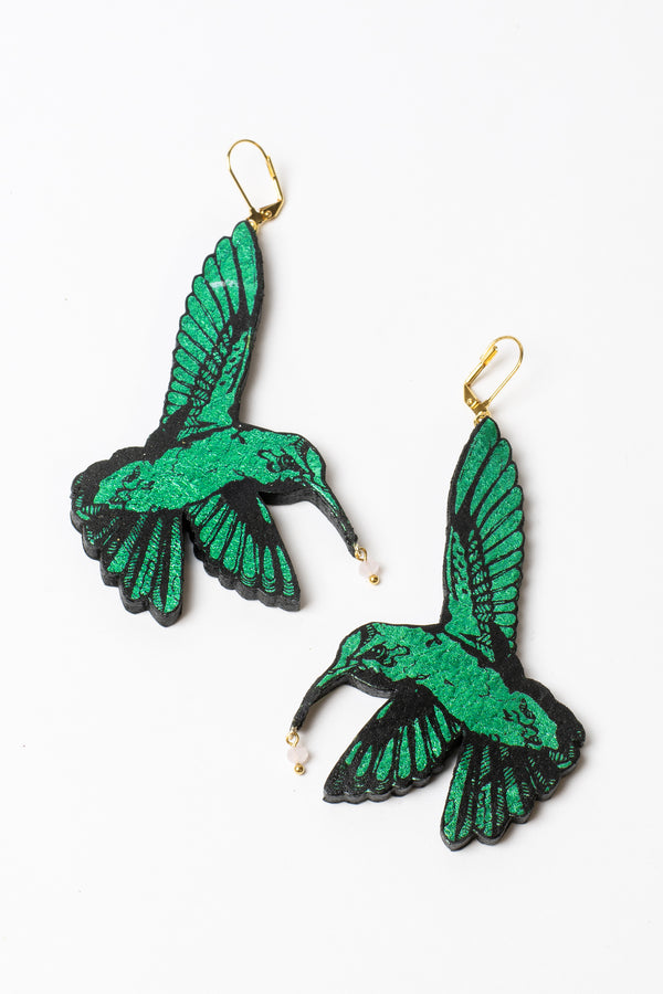 Rosita Bonita Hummingbird Earrings