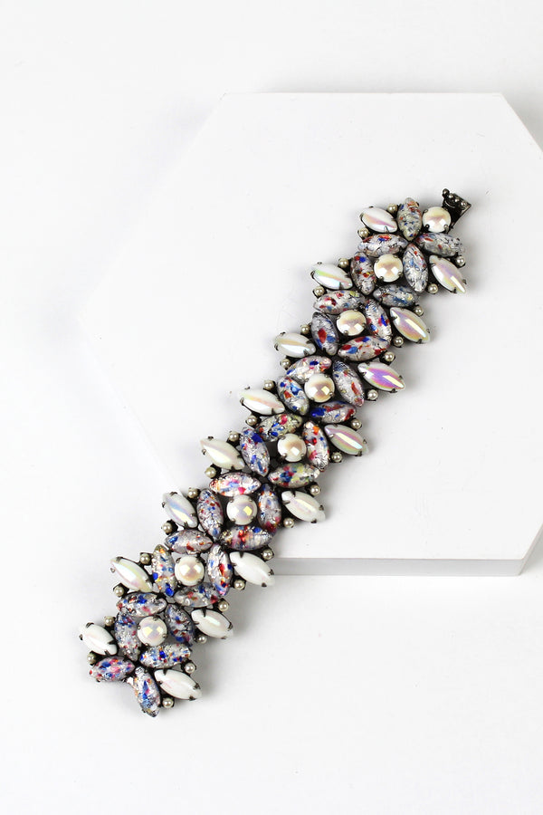 De Luxe Speckled Glass Bracelet