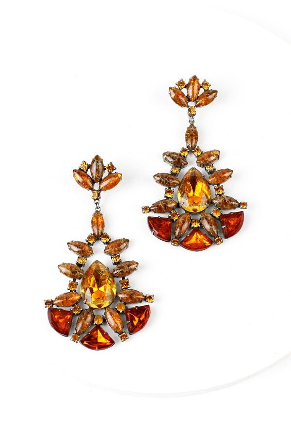 De Luxe Autumn Bardot Earrings