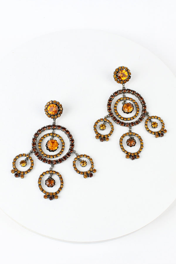 De Luxe Gypsy Circle Earrings