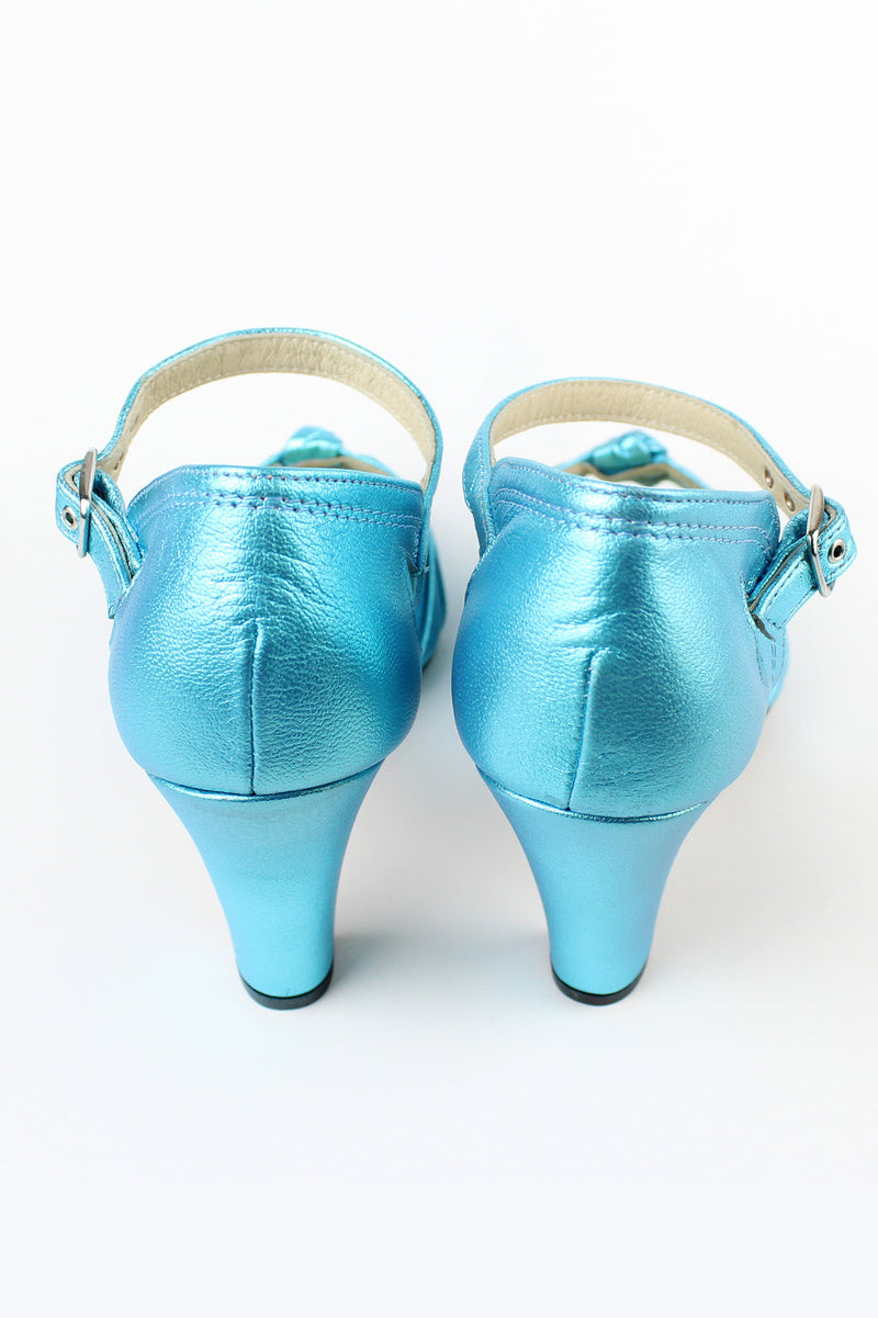 Re-Mix Ritz Heels - Trashy Diva - Metallic Blue