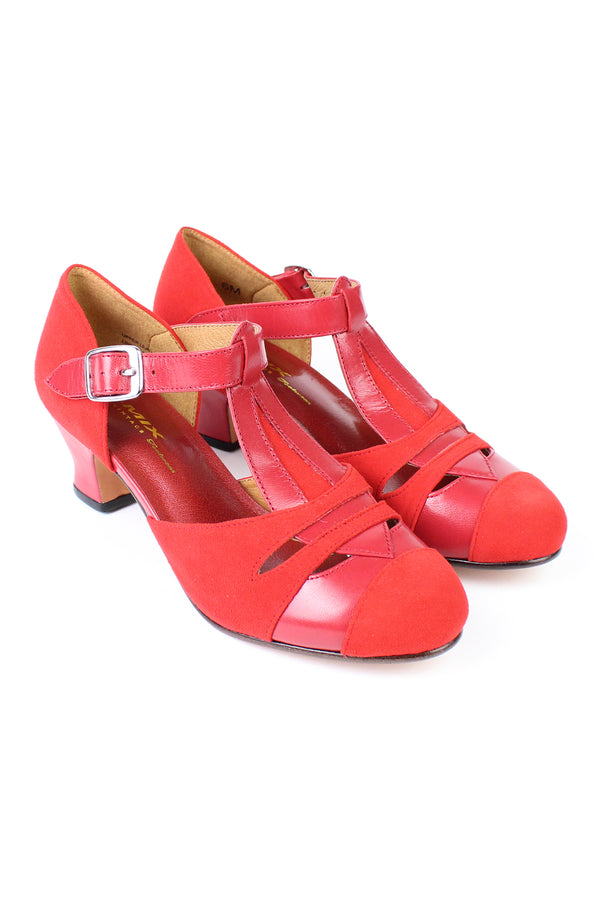 Re-Mix Tribeca 3 Heels - Trashy Diva - Red
