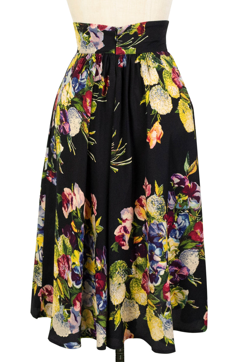40s Skirt - Martini Floral