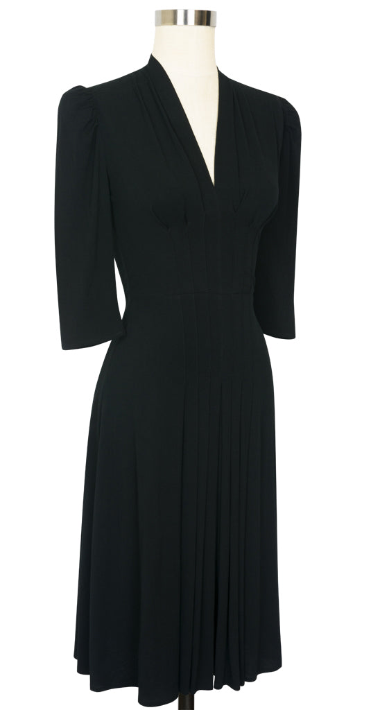 Jenny Long Sleeve Dress - Black