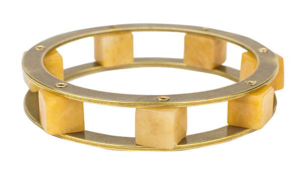 Jan Michaels Cube Bangle
