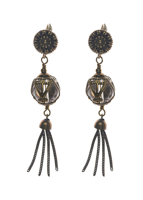 Jan Michaels Elegant Tassel Earrings
