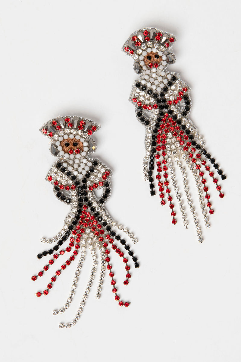 Jeweled Jack Earrings