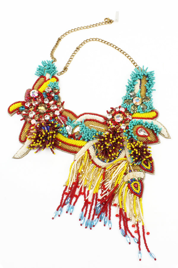 Jyo Colors of Carnival Beaded Necklace
