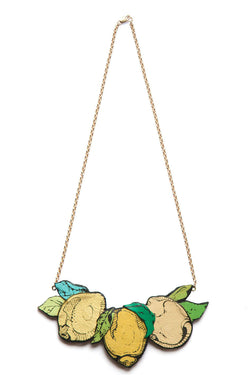 Rosita Bonita Lemon Branch Necklace