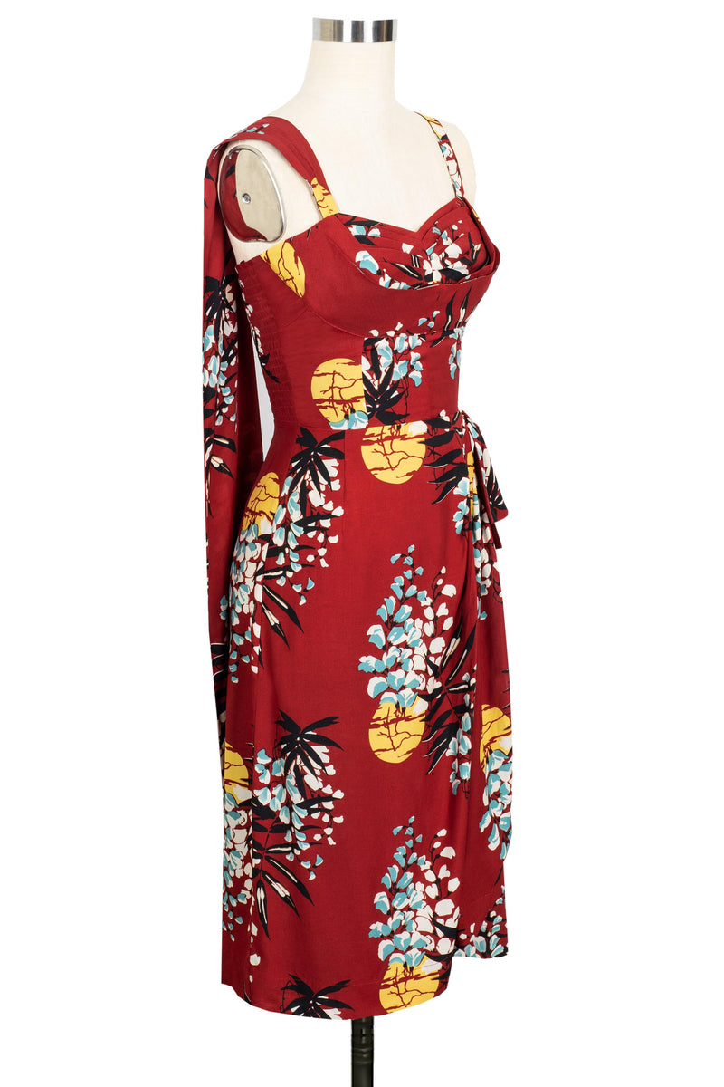 Lena Sarong Dress - Tropical Nights