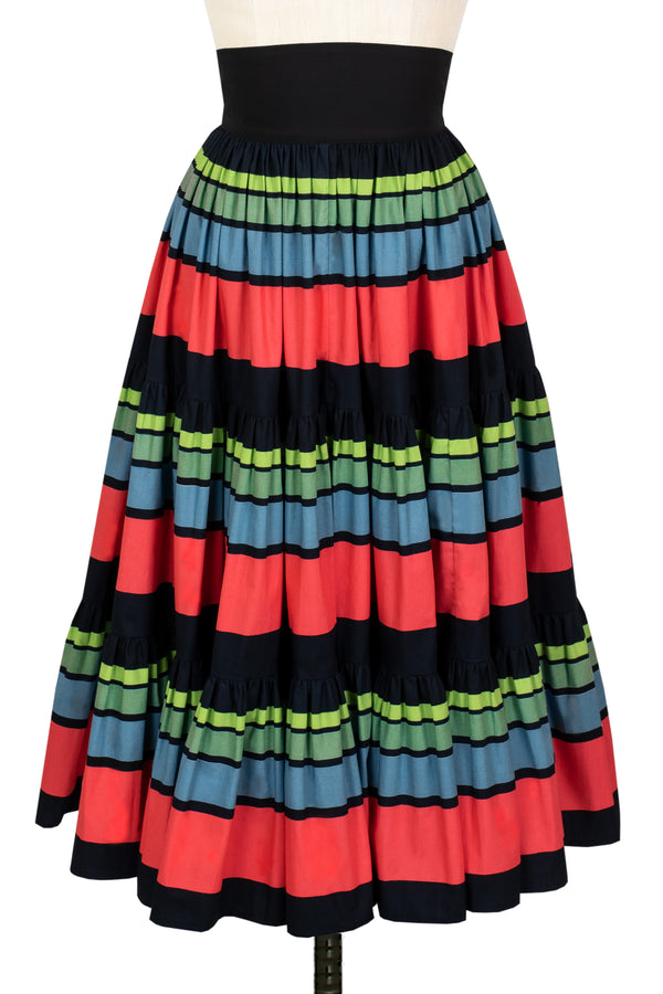 Muy Bonita Skirt - 50's Stripe - Final Sale