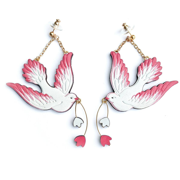 Rosita Bonita Lovebird Earrings