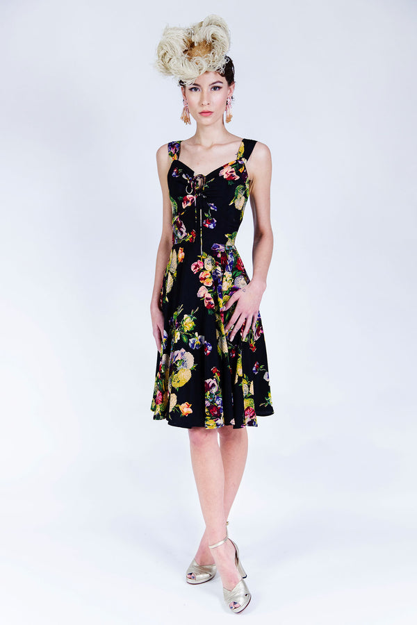 L'Amour Dress - Martini Floral