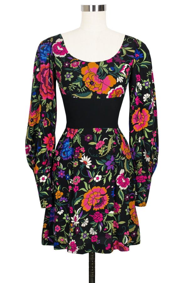 Marsha Dress - Mod Flamenco