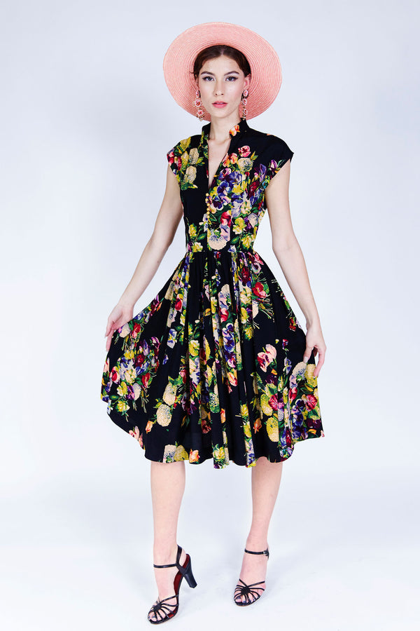 Maria Dress - Martini Floral PRE-ORDER