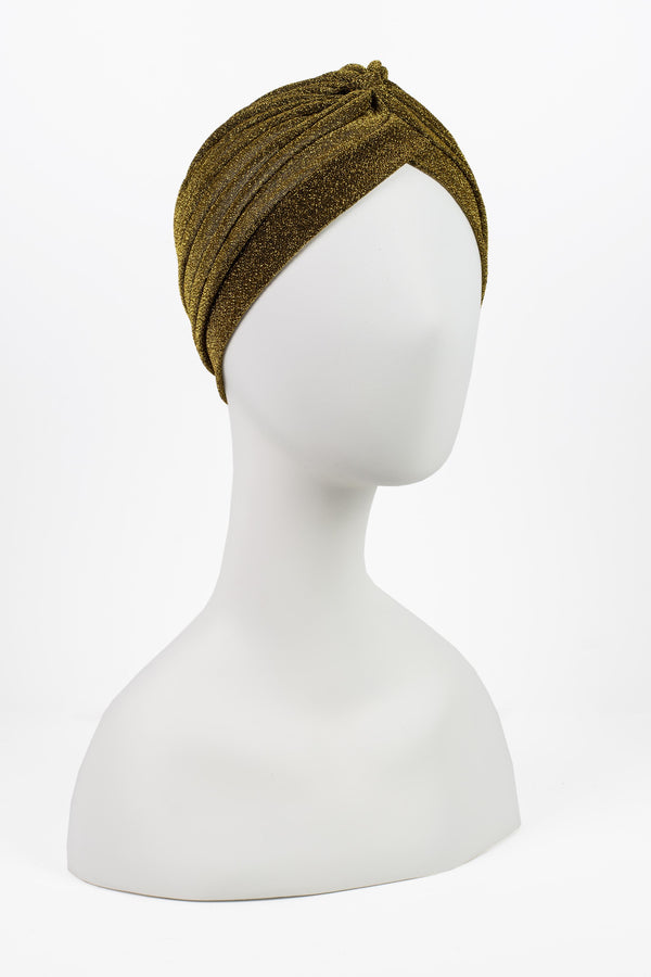 Metallic Sparkle Turban