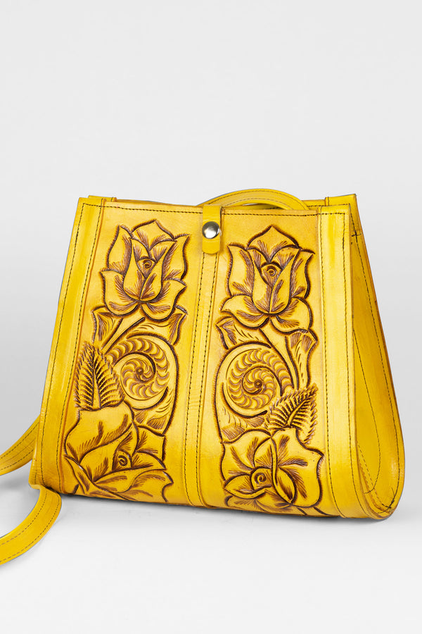 Mexil Hand Tooled Purse