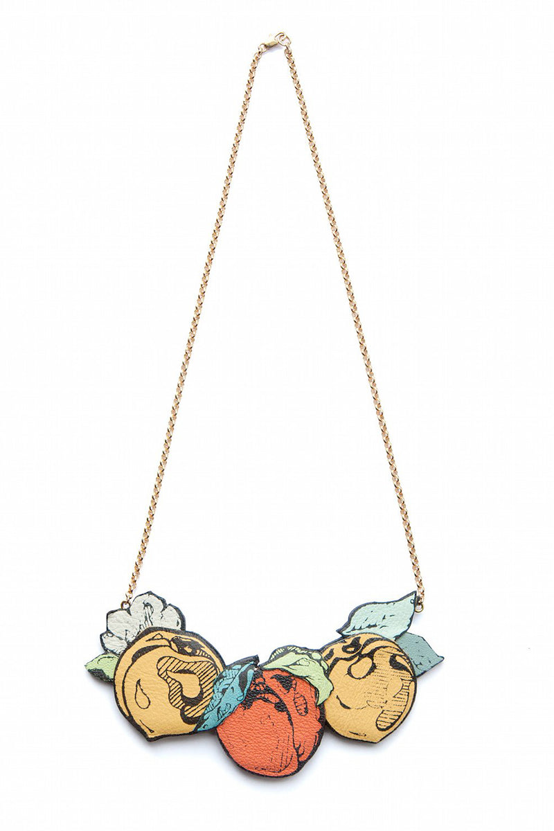 Rosita Bonita Peach Branch Necklace