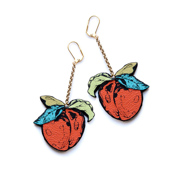 Rosita Bonita Peach Earrings