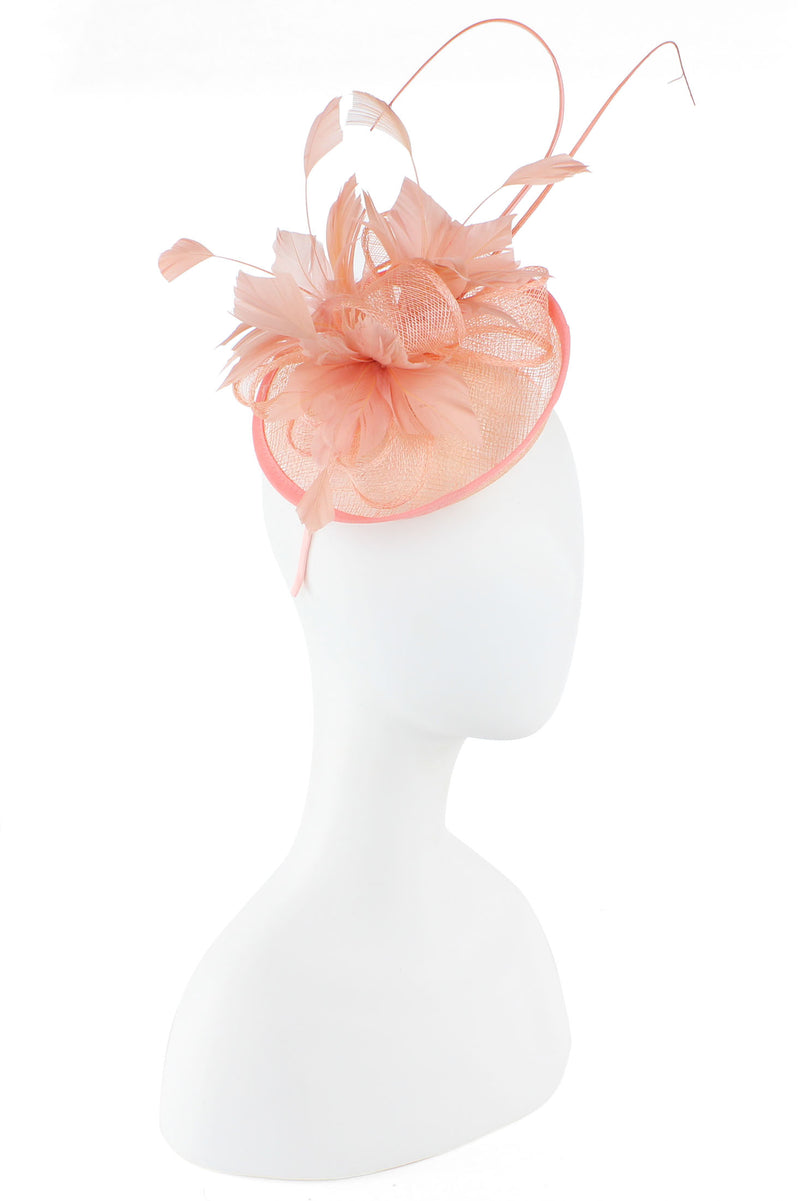 Feather & Bow Fascinator
