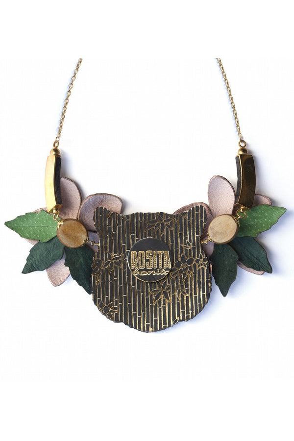 Rosita Bonita Tiger Orchid Necklace