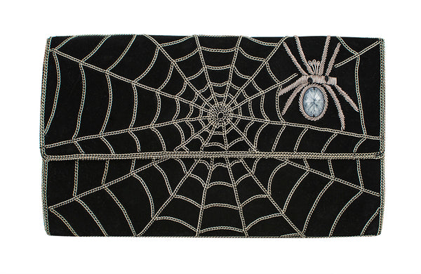 Chain Spider Web Clutch