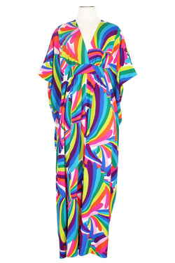 Liz 2 Caftan - Rainbow Bright