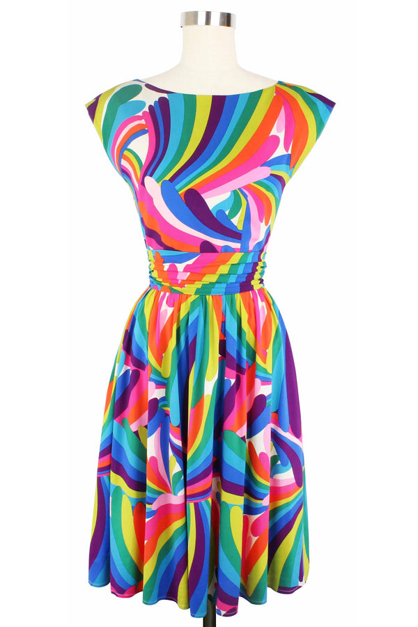 Cassandra Dress - Rainbow Bright PRE-ORDER