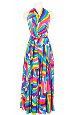 Helena Dress - Rainbow Bright