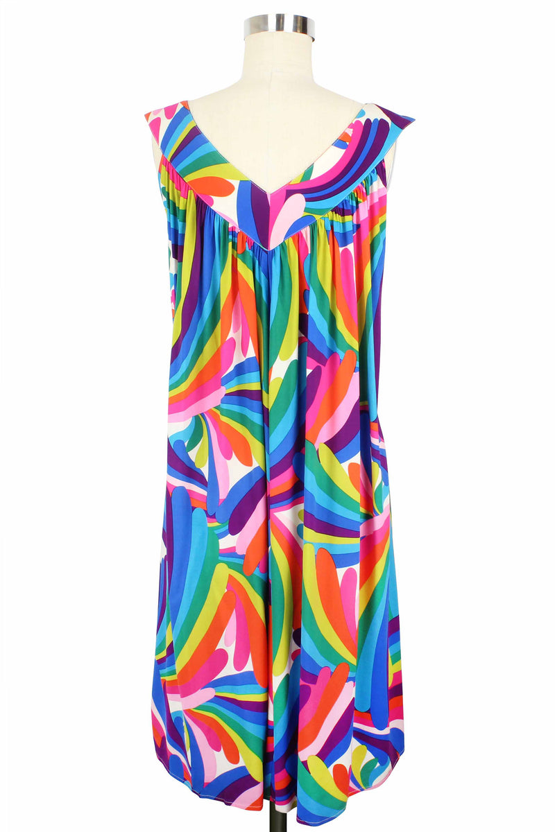 Muu Muu Dress- Rainbow Bright