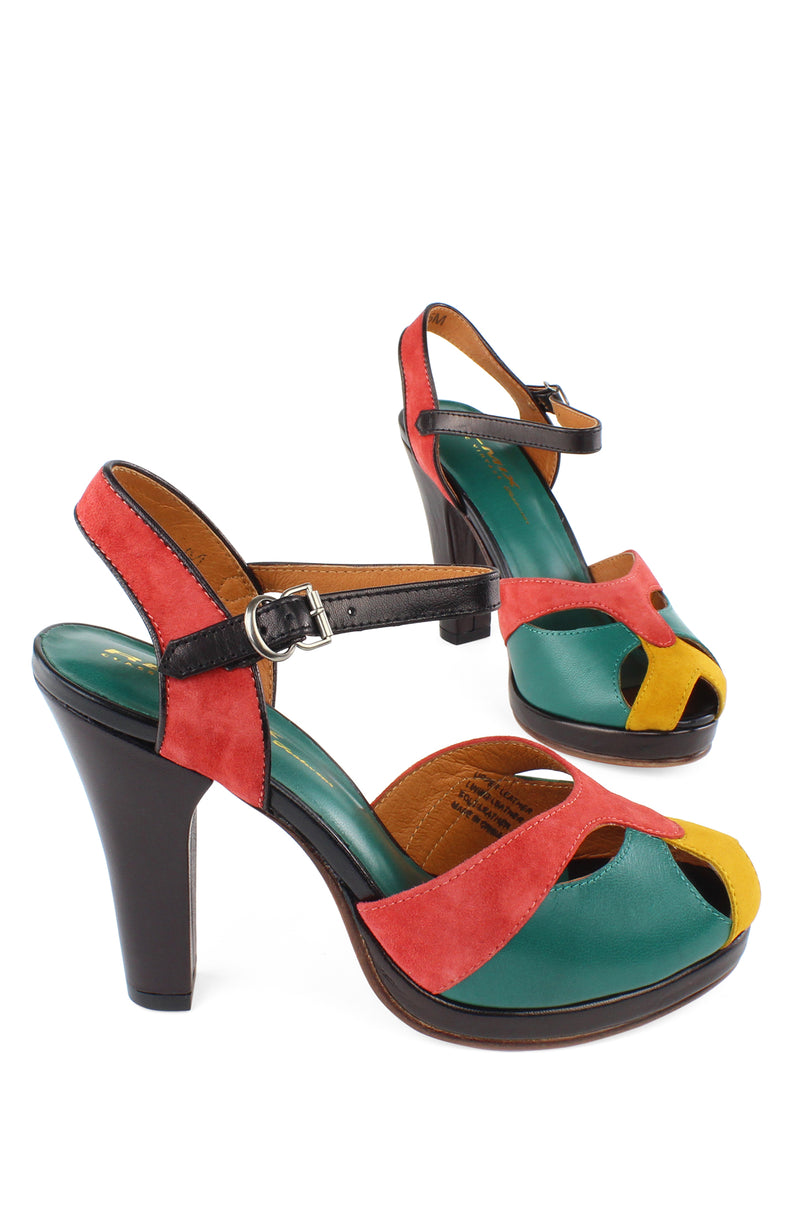 Exclusive! Re-Mix Carnival Heels