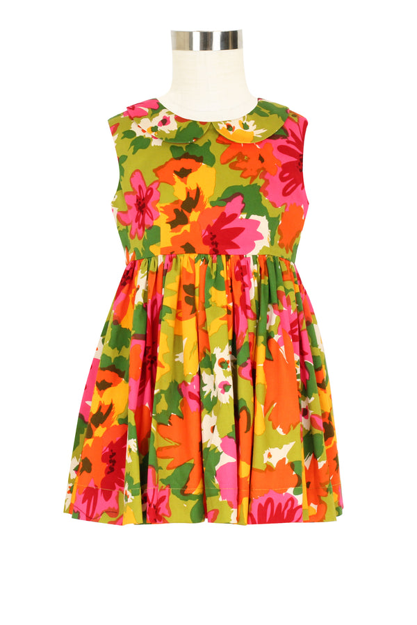 Judy Dress - DayGlow Floral - Pre Order