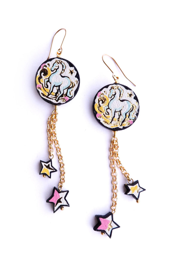 Rosita Bonita Cinderella Pony Starlight Earrings