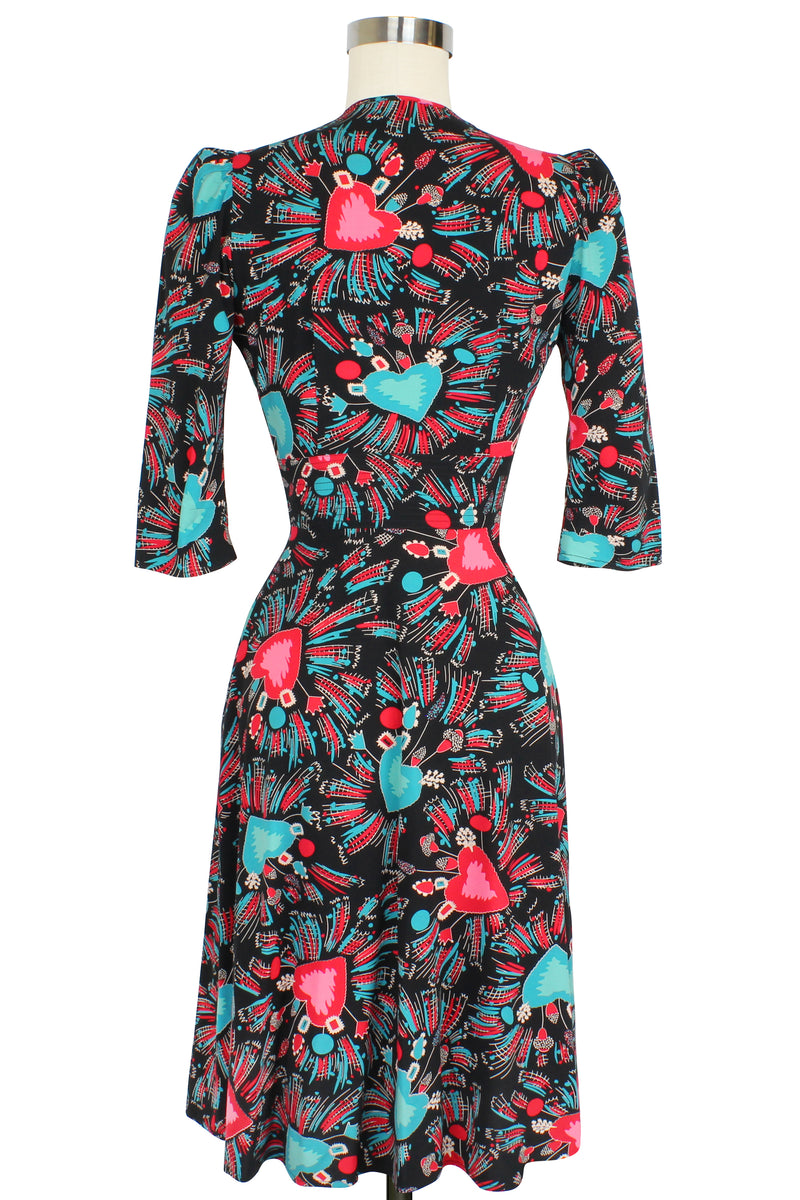 Ashley 3/4 Sleeve Dress - Sacred Hearts
