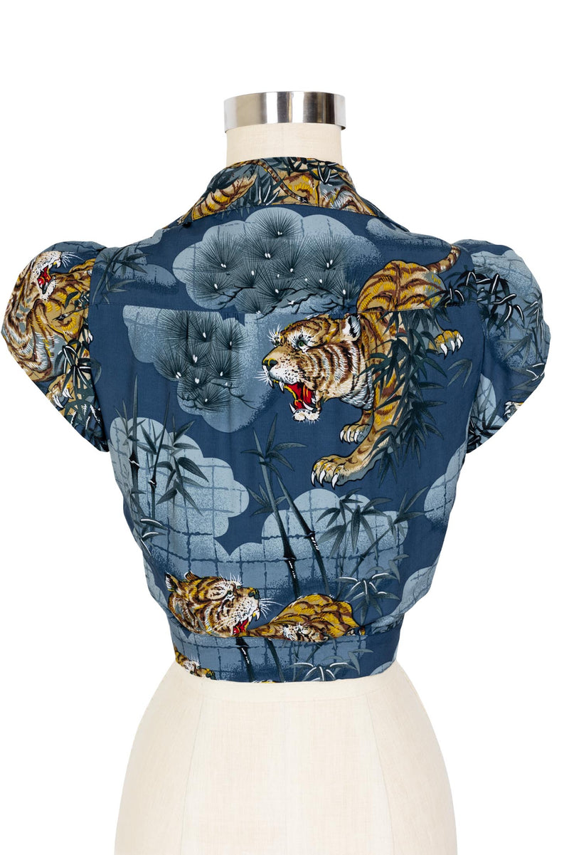 Sweetie Blouse - Traditional Tigers