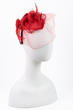 Sinamay Flower Fascinator