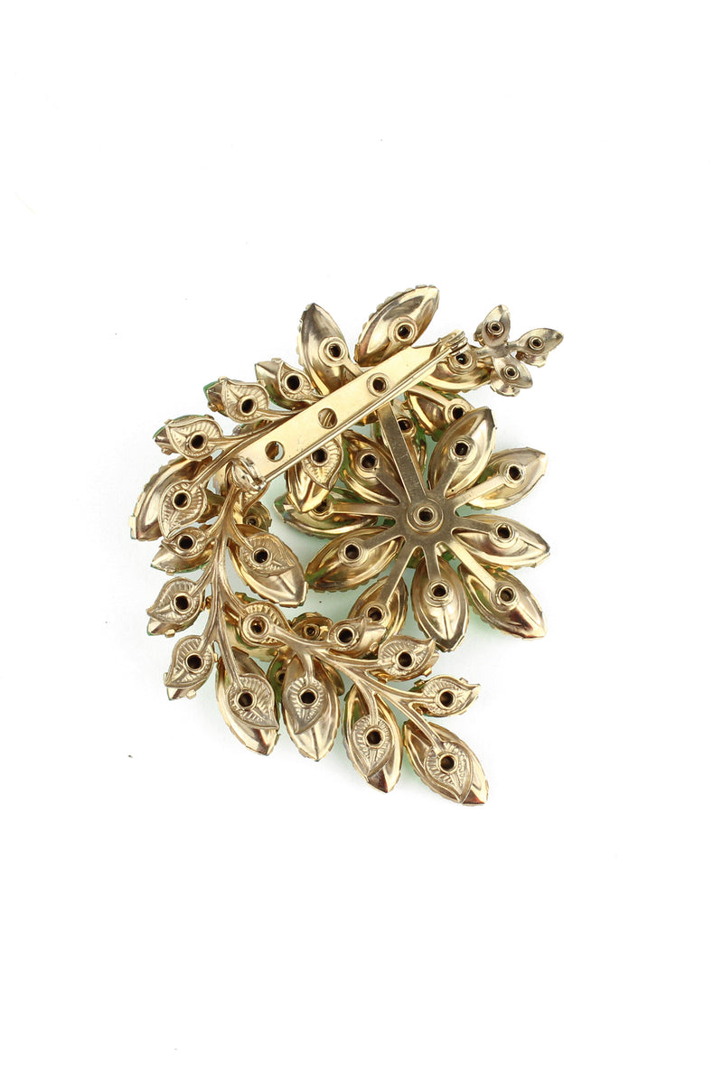 Vintage Juliana Style Earrings & Pin- 1959 Floral