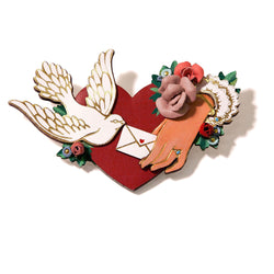 Rosita Bonita Tokens of Affection Brooch