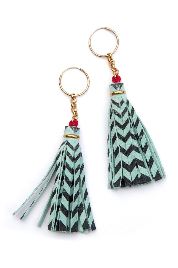 Rosita Bonita Rosita Bonita Twin Tassel Earrings
