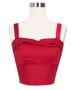 Trixie Top - Red