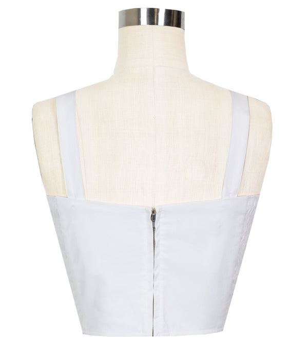 Trixie Top - White