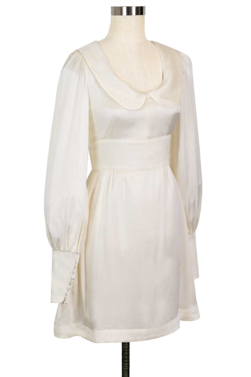 Wednesday Dress - Ivory Satin