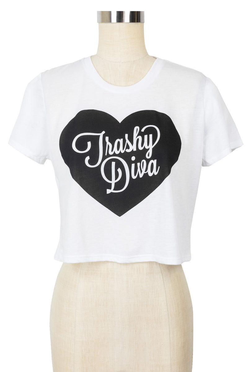 Trashy Diva Crop Top