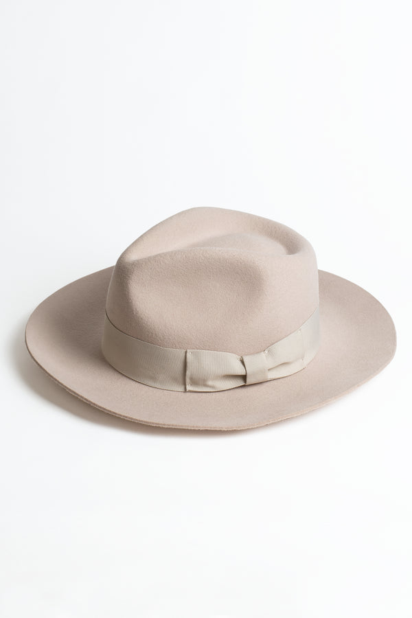 Wool Ribbon Fedora