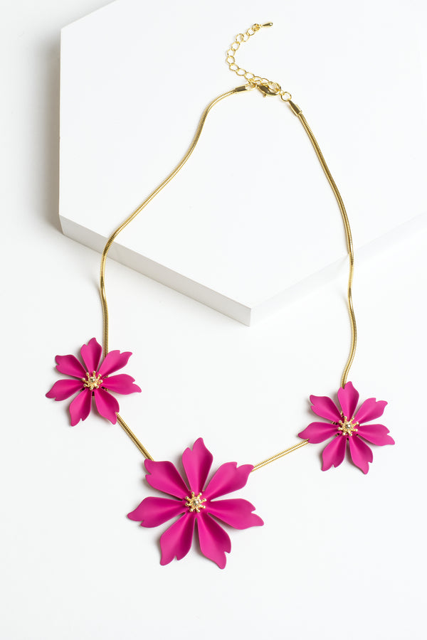 Zenzii Jasmine Collar Necklace